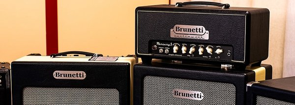 Brunetti, a leading brand among Italian guitar amplifiers