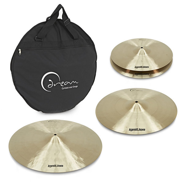 Dream Ignition Series 3 Piece Cymbal Pack 14''/16''/20''
