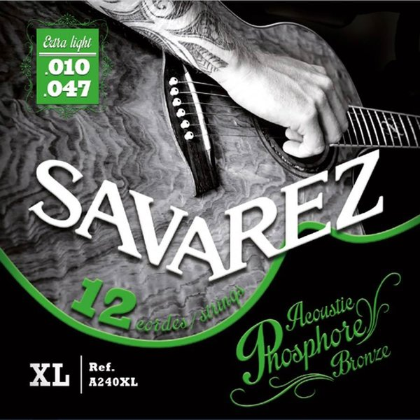 Savarez Acoustic Phosphore Bronze 12 string set 10-47
