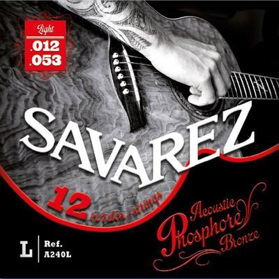 Savarez Acoustic Phosphore Bronze 12 string set 12-53