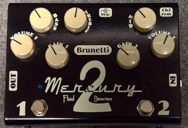 Brunetti Mercury 2 Box, fluid distorsion
