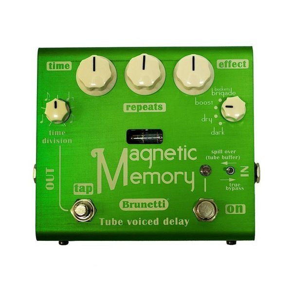 Brunetti Magnetic Memory Delay, with Tap tempo