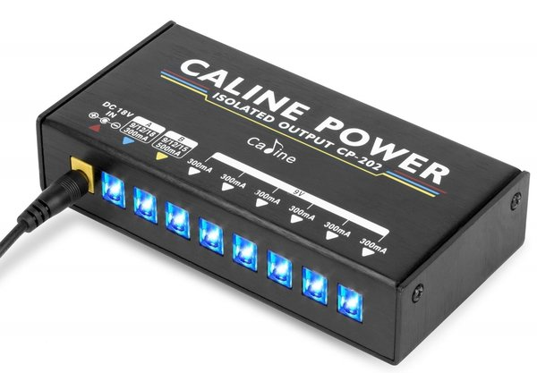 Caline CP-202 Guitar Pedal Power Supply