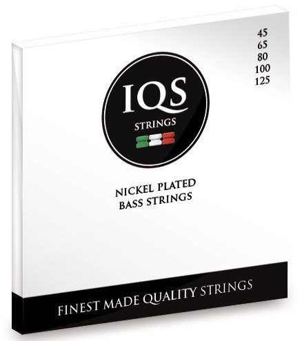 IQS Bass 4 Nickel Plated strings