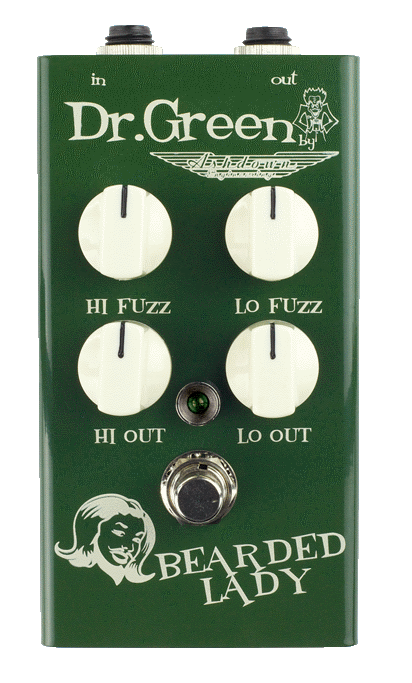 Dr Green Bearded Lady bass fuzz