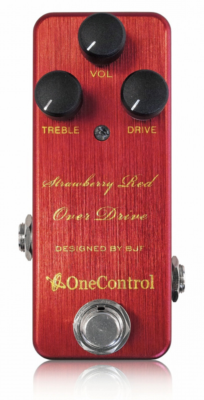 One Control Strawberry Red Overdrive