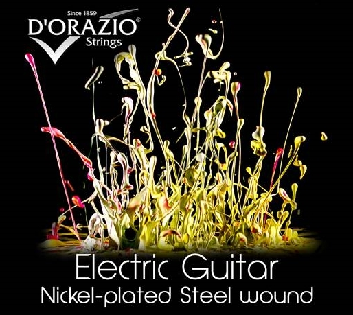 D'ORAZIO Electric Guitar, Nickel plated steel wound
