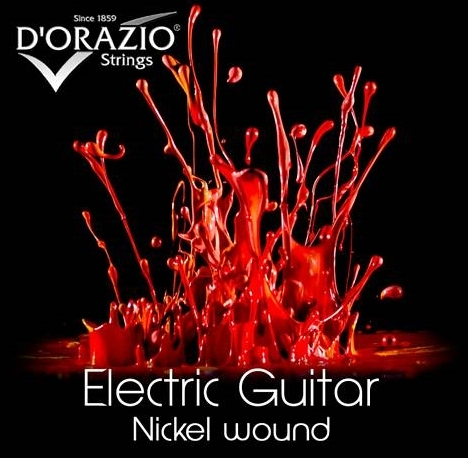 D'ORAZIO Electric Guitar Nickel wound