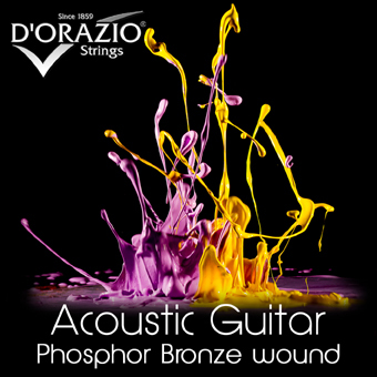 D'Orazio Acoustic guitar Phosphor bronze
