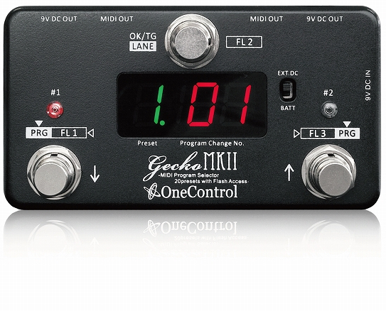 One Control Gecko MkIII MIDI switcher