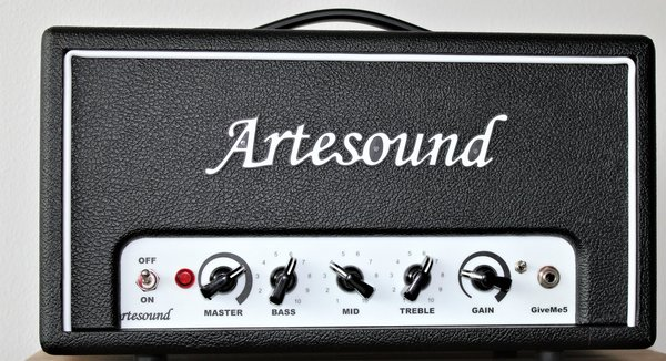 Artesound GiveMe5 head, 5W all tube, adj. speaker SIM