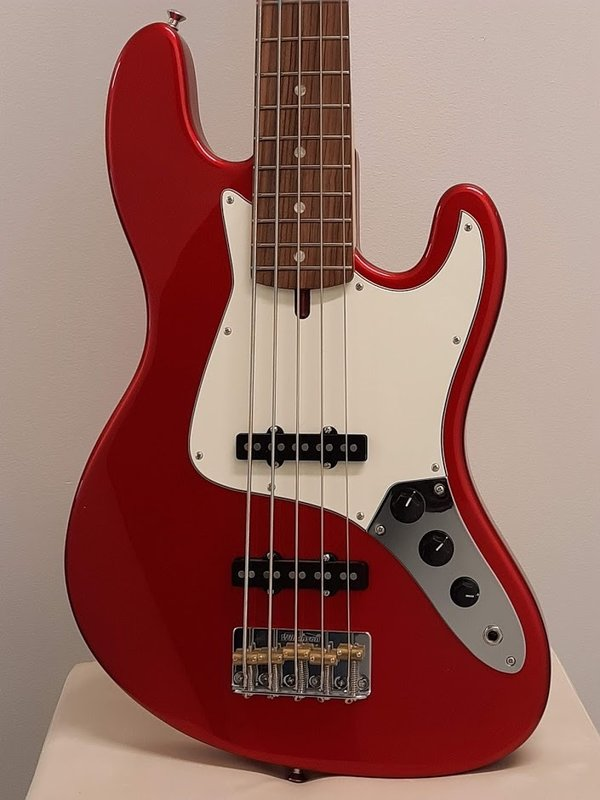 Ashdown The Grail bass 5-string, Candy Apple Red