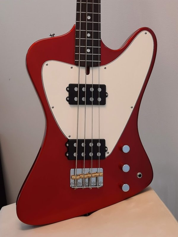 Ashdown The Low Rider bass 4-string, Metallic Red