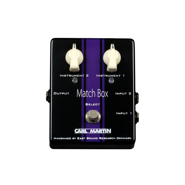 Carl Martin Match Box, A/B Switch